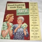 Good Cooking made easy Spry the flavor saver recipe booklet