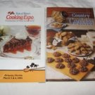 Country Cookies and Taste of Home Cooking Expo cookbook