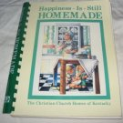 Happiness is still homemade cookbook