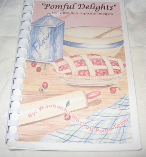 Pomful Delights over 100 scrumptious Recipes cookbook