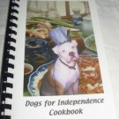 Dogs For Independence Cookbook recipes for humans
