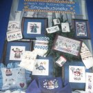 There's no business like Snowbusiness cross stitch by Alma Lynne Book no 22150