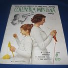 Teach yourself to knit the easy Columbia Minerva Way