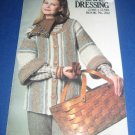 Sweater Dressing Coats and Clark no 282 Knitting pattern