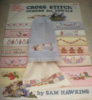 Cross Stitch Designs for Towels 3503 American School of Needlework