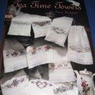 Leisure Arts 2302 Tea Time Towels by Diane Brakefield