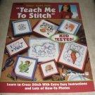 Teach me to stitch by Linda Gilliam