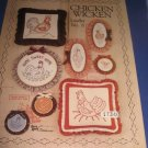 Chicken Wicken Leaflet no 8 candlewicking and stenciling