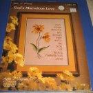 Gods Marvelous Love cross stitch pattern leaflet 5