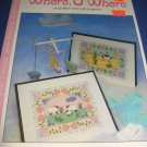 Where O Where sheep and cow cross stitch pattern VAC711