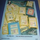 Wash Day  cross stitch pattern leaflet 1015 by Suzanne McNeil