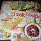 7 issues of Home Cooking 2001