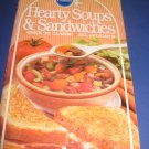 Pillsbury Classic  no.72 Hearty Soups and sandwiches cookbook recipes