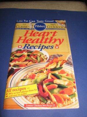 Pillsbury Classic  no.132 Heart Healthy Recipes cookbook recipes