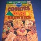 Pillsbury Classic  no.163 Cookies Bars brownies cookbook recipes