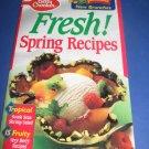 Betty Crocker Fresh Spring recipes cook book