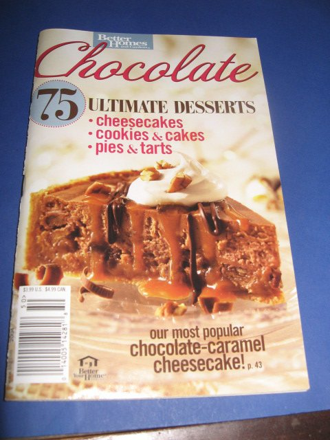 Better Homes and Gardens Chocolate Cookbook