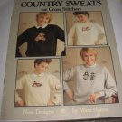 Leisure arts Mimis country sweats for cross stitchers booklet patterns 503