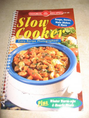 Favorite all time recipes Slow Cooker Cookbook