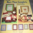 Leisure arts  More than samplers booklet patterns 402