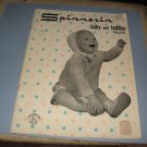 Spinnerin baby and toddler hand knits knitting patterns volume 137