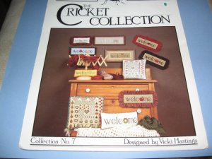 The Cricket Collection No. 7 by Vicki Hastings  cross stitch patterns