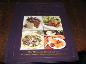 Test Kitchen Favorites Better Homes and Gardens Timeless recipes menus etc