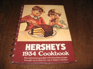 """Hershey""""s 1934 cookbook revised and expanded"""