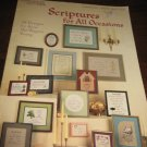 Leisure arts Scriptures for all occasions  cross stitich patterns 355