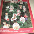 Aida Plus  Christmas Ornaments #2 cross stitch patterns 4810