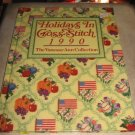 Holidays in  cross stitch1990 cross stitch  pattern Vanessa Ann Collection