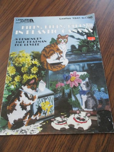 Kitty kitty kitty in plastic canvas Leisure arts 1341