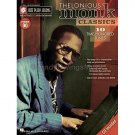 Jazz Play-Along Volume 90: Thelonious Monk Classics (Instrumental Solo Personality Songbook with CD)