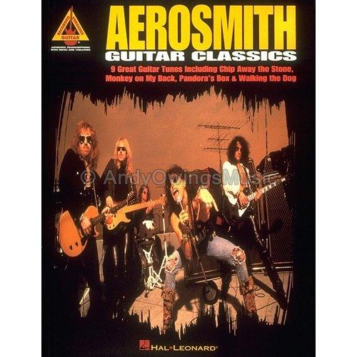 Aerosmith Guitar Classics (Guitar TAB Tablature Personality Songbook) **RARE**