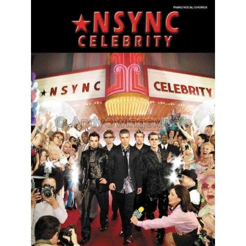 *NSYNC: Celebrity (Piano/Vocal/Guitar Personality Songbook) **RARE**