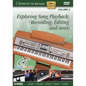 Clavinova CVP-300 - 2: Exploring Song Playback, Recording