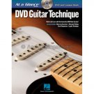 DVD Guitar Technique - At A Glance (Guitar Lesson Instruction Book with DVD Video)