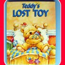 TEDDY'S LOST TOY Hardcover Childrens BOOK Vocabulary