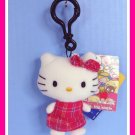 Build a Bear Tiny HELLO KITTY Clip Ring Furry Mascot