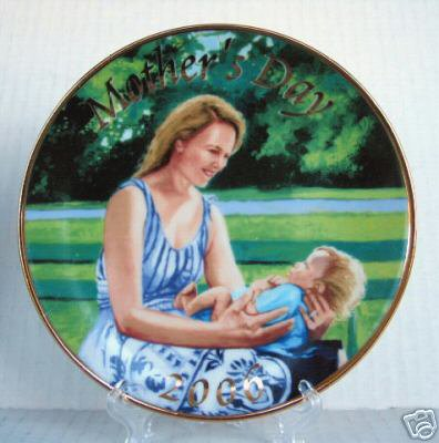 NEW 2006 AVON Mother's Day Collectors PLATE Colin Bootman RETIRED Mother Child
