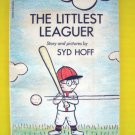 THE LITTLEST LEAGUER Baseball Vintage BOOK Syd Hoff Beginning Reader Scholastic