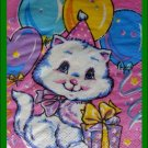 SEALED Birthday Blue Eyed CAT Kitten Paper NAPKINS Collectible Servietten Drink