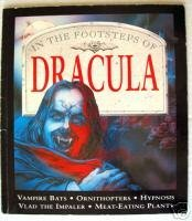 In The Footsteps Of DRACULA Vampire BOOK Horror Story Bats Meat Eating Plants