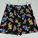 Mens M&M Candies Chocolate Boxers M 32 34 Christmas M&M's Holiday Sleep Shorts
