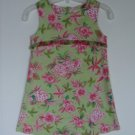 Girls Psketti Fashion Summer Sheath Dress 5 Tropical Floral Sleeveless Portraits