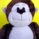 "Build A Bear Monkey Plush 18"" Brown Marvelous Stuffed Animal Workshop Soft Toy"