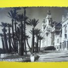 MONTE CARLO Monaco CASINO Vintage POSTCARD STAMP 1948 Building Photo Terasses