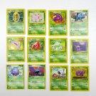 Lot Pokemon Trading Cards Nintendo First Edition Base 1999 Bulbasaur Ivysaur