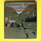 Antique 1908 Book Quicksteps through Scandinavia with A Retreat from Moscow Old