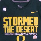 Oregon Ducks 2013 Tostitos Fiesta Bowl Champions Mens T-Shirt Football Nike ✔